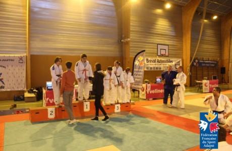Championnat départemental Judo Sport Adapté  78