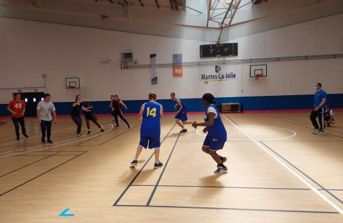 Tournoi de para basket adapté « All star game ».